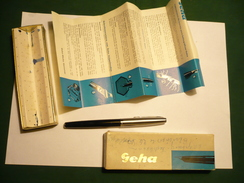 Füller Geha 715 BB In Org. Karton  (363) - Schreibgerät