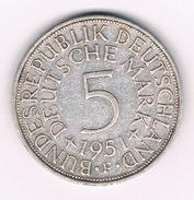5 MARK 1951 F DUITSLAND /217B/
