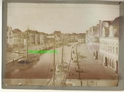 "MECHELEN MALINES Zeldzame Albumine Foto "" LA DYLE "" Rond 1900-1910  Trenkler & Co - Lieux"