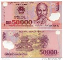 VIETNAM       50,000 Dong       P-121g       (20)09       UNC  [ 50000 ]