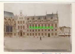 "MECHELEN MALINES Zeldzame Albumine Foto "" OUD STADHUIS NU DE POST "" Rond 1900-1910  Trenkler & Co - Lieux"