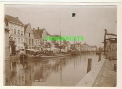 "MECHELEN MALINES Zeldzame Albumine Foto "" COOPERATIVE SAMENWERKING "" Rond 1900-1910  Trenkler & Co - Lieux"