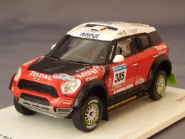 True Scale Miniatures 114351, Mini All4 Racing #305, Dakar 2011, Chicherit - Perin, 1:43 - Voitures, Camions, Bus