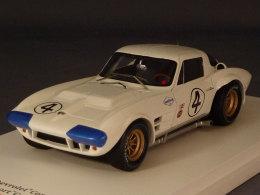 True Scale Miniatures 124321, Chevrolet Corvette #4, 12h Sebring 1964, Hall - Penske, 1:43 - Voitures, Camions, Bus