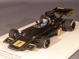 True Scale Miniatures 124326, Lotus 76 #1, GP Deutschland 1974, Ronnie Peterson, 1:43 - Voitures, Camions, Bus