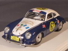 True Scale Miniatures 124356, Porsche 356 #162, Carrera Panamericana 1953, Manfredo Lippmann, 1:43 - Voitures, Camions, Bus