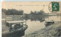 26739 - GRAY - LE PONT SUSPENDU ET LA SAONE - Gray