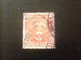RHODESIA Del SUR RHODESIE Du SUD 1924 GEORGE V Yvert N 2 º FU - Southern Rhodesia (...-1964)