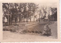Foto Soldatenfriedhof - 2. WK - 8*6cm (25993) - Guerra, Militari
