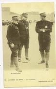 S5589 - Guerre 1914 - Nos Généraux - De Castelnau - Joffre - Pau - Guerre 1914-18