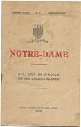 D 172 Recueil De L'Association Amicale Des Anciens Elèves De L'Ecole Notre Dame Des Aydes à Blois En 1930 - Autres Collections