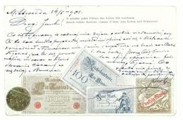 2. V. 1901 - O Mochte Jeder Ultimo Das Leben Dir Versussen Durch Solche Ansicht, Comme Il Faut, Zum Leben Und Geniessen! - Monnaies (représentations)