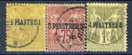 Levante 1885 Serie N. 1-3 Usati Catalogo € 52 X