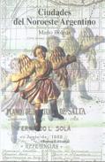 CIUDADES DEL NOROESTE ARGENTINO LIBRO DE MARIO BOLEDA ALIANZA EDITORIAL 256 PAGINAS AÑO 1999 - Economie & Business