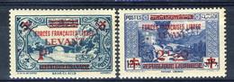 Levante 1942 Serie N. 42-43 MNH Catalogo € 24