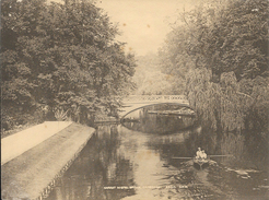 Photo Sépia De Cambridge (15 X 20 Cm) - Garret Hostel Bridge - G.W.W. N° 3460 - Places