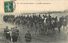 ISSY LES MOULINEAUX CHAMP DE MANOEUVRES ATTELAGE CHEVAL 92 - Issy Les Moulineaux