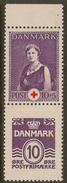 DENMARK 1940 10+5o Red Cross SG 271cb UNHM #XN211 - 1913-47 (Christian X)