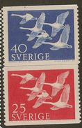 SWEDEN 1956 North Countries SG 376-7 UNHM #XN151