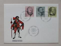 """SUISSE / SCHWEIZ / SWITZERLAND // 1974, Brief Mit Satz Sondermarken """"100 Jahre UPU"""", Sonderst. """"CENTENARIUM UPU"""" - Suisse"""