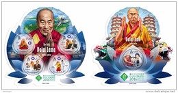SOLOMON Isl. 2016 - Dalai Lama. M/S + S/S - Buddismo