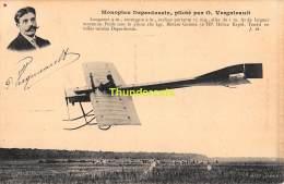 CPA  AVIATION MONOPLAN DEPERDUSSIN PILOTE PAR O VERNIEAULT - ....-1914: Précurseurs