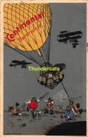 CPA  AVIATION CONTINENTAL BALLONSTOFF HANNOVER PUB PUBLICITE BALLON D'AIR HOT AIR BALLOON - Montgolfières