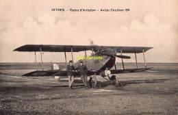 CPA  AVIATION ISTRES CAMP D'AVIATION  AVION CAUDRON 59 - ....-1914: Précurseurs
