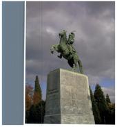 (77) Greece - Men On Horse Statue - Esculturas