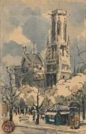 Illustrateur -  Aquarelle - Paris - Watercolours