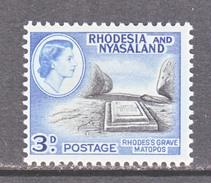 RHODESIA  & NYASALAND  162  *   RHODES  GRAVE - Rhodesia & Nyasaland (1954-1963)