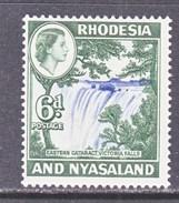 RHODESIA  & NYASALAND  164  *   WATERFALLS - Rhodesia & Nyasaland (1954-1963)