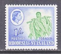 RHODESIA  & NYASALAND  165  *   WATERFALLS - Rhodesia & Nyasaland (1954-1963)