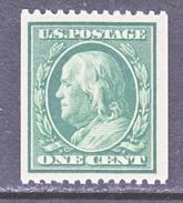 U.S.  385  Perf. 12  *   1910  Issue  Wmk. 190 SINGLE LINE - United States