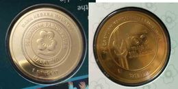 Malaysia Coin 2016  1 Ringgit  Girl Guides 100 Years Nordic Gold BU Coin Card 1 Ringgit Rare - Malaysia