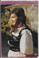 25.- Franc- Comtoise Avec Coiffe Et Costume De Diaichotte - Franche-Comté