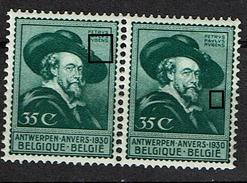 300 Paire  **  LV 4  Points Verts Sous Rubens Et Soleil - Variétés Et Curiosités