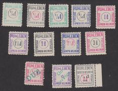 Lagerpost WK I,1914/1918, Engländerlager RUHLEBEN - Kriegsgefangenenpost - Privatpost - Privatpost