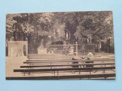 Grot Van O.L.V. Van Lourdes  Te EDEGHEM (Nels) Anno 1929 ( Zie Foto Details ) !! - Edegem