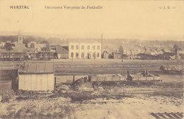 Herstal - Panorama. Vue Prise De Foxhalle (animée, Wagons, 1919, Vve Francis) - Herstal