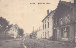 Herstal - Ecole Des Soeurs (animée, AHH, 1911) - Herstal