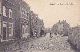 Herstal - Rue Voie De Liège (animée, Attelage, E. Dumont) - Herstal