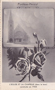 Pontisse-Herstal - Eglise Et La Chapelle (dans La Tour) Constuite En 1933 (Splendidphotot Vranken Ed.) - Herstal