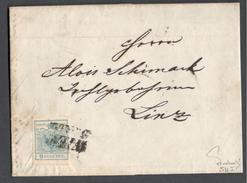 Austria1850:Michel 5H I On Cover(signed By Dr.Ferchenbauer) - Cartas