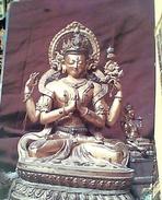 INDIA  AVALOKITESVRA BRONZE  HEMIS GUMPHA VB1989 FV8929 - India