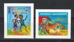 Georgia Georgien 2016 Mi. Fairy Tales Self Adshive - Georgia