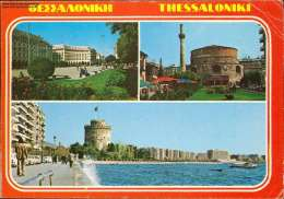 Thessaloniki Mehrbildkarte - Greece