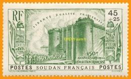 Soudan 1939 P 105 Sans Gomme
