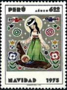PERU 1975 AEREO 409 ** MNH  NAVIDAD - Peru