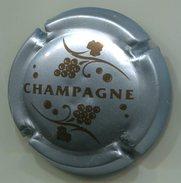 CAPSULE-766 -CHAMPAGNE Argent Bleuté - Champagne